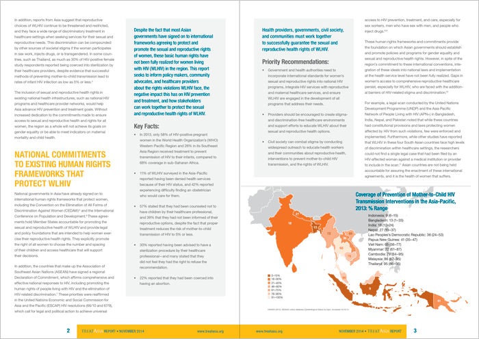 Treat Asia, Policy Brief