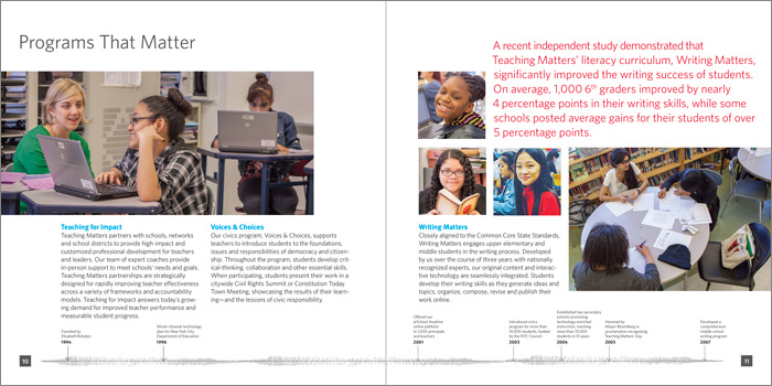 Teaching Matters Annual Report